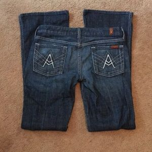 {7 For All Mankind} Like New A Pocket Jeans
